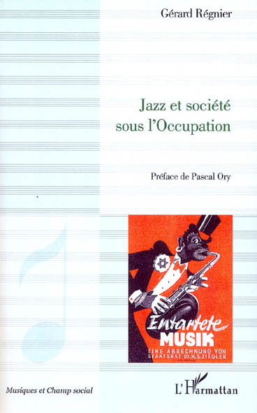 JAZZ ET SOCIETE SOUS L'OCCUPATION
